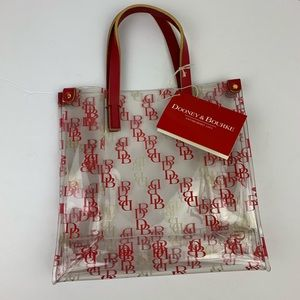 Dooney & Bourke Clear Lunch Tote Bag